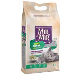 Mırmır - Mırmır Ultra Scented Marsilya Sabunlu Topaklanan Kedi Kumu 5 Lt