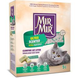 Mırmır - Mırmır Ultra Scented Ultra Parfümlü Topaklanan Kedi Kumu 5 Lt