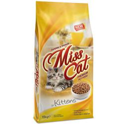 Miss Cat - Miss Cat Kitten Chicken Tavuklu Yavru Kedi Maması 15 Kg