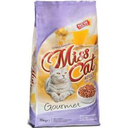 Miss Cat - Miss Cat Gourmet Tavuk Balık ve Karaciğerli Yetişkin Kedi Maması 15 Kg