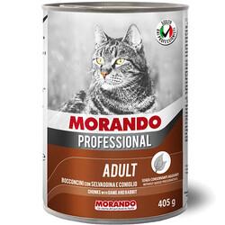 Morando - Morando Av Hayvanı ve Tavşan Eti Kedi Konserve 405 Gr