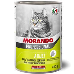 Morando - Morando Pate Biftek ve Sebzeli Kedi Konservesi 400 Gr