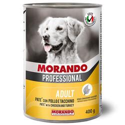 Morando - Morando Tavuk ve Hindi Köpek Yaş Maması 400 Gr