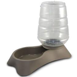 Mp Bergamo - Mp Bergamo Nuvola Dispenser Rezerv Hazneli Köpek Gri Su Kabı 11 Lt