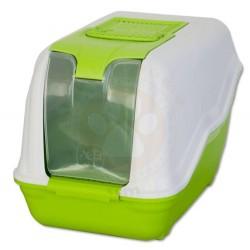 MPS - MPS Netta Kapalı Kedi Tuvaleti Yeşil 66x37x50 Cm