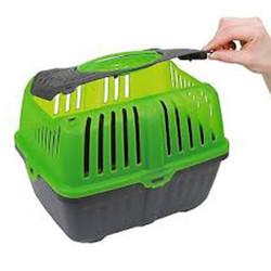 MPS Neyo Plastik Tavşan-Hamster ve Ginepig Taşıma Çantası 30x23x23 Cm - Thumbnail