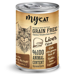 My Cat - My Cat Ciğerli Tahılsız Kedi Konservesi 415 Gr