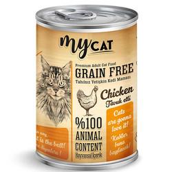 My Cat - My Cat Tavuk Etli Tahılsız Kedi Konservesi 415 Gr