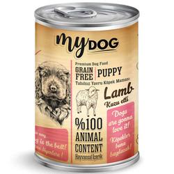 My Dog - My Dog Puppy Kuzu Etli Tahılsız Köpek Konservesi 415 Gr