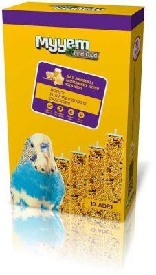 My Yem Ballı Muhabbet Kuşu Krakeri 10'lu Paket