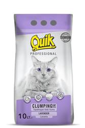 Quik - Quik Lavanta Kokulu İnce Taneli Kedi Kumu 10 Lt