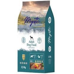 Mystic - Mystic Düşük Tahıllı Kuzu Etli Yetişkin Köpek Maması 2,5 Kg