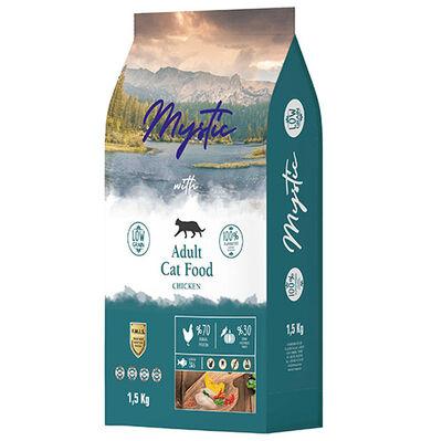 Mystic Düşük Tahıllı Tavuk Etli Yetişkin Kedi Maması 1,5 Kg