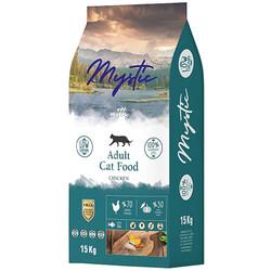 Mystic - Mystic Düşük Tahıllı Tavuk Etli Yetişkin Kedi Maması 15 Kg