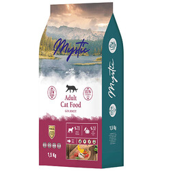 Mystic - Mystic Gourmet Düşük Tahıllı Yetişkin Kedi Maması 1,5 Kg