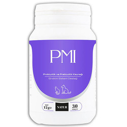 Natur - Natur PMI Probiotic Sindirim Sağlığı Kedi ve Köpek Besin Takviyesi 30 Tablet