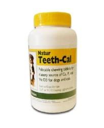 Natur - Natur Teeth - Cal Kedi ve Köpek için Vitamin Tablet (100 Adet)