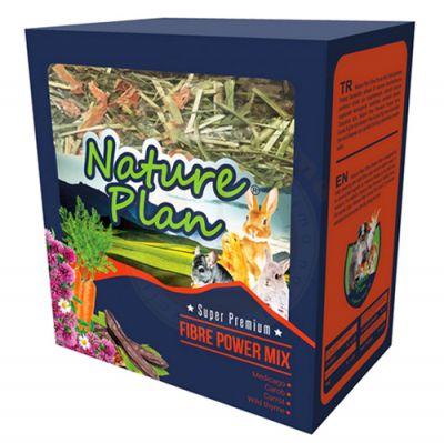Nature Plan 3030 Fibre Power Mix Kemirgen Yemi 700 Gr