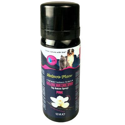 Nature Plan 3323 Pink Vanilya Aromalı Kedi ve Köpek Tüy Bakım Spreyi 50 ML