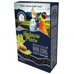 Nature Plan - Nature Plan Bird Coal Kuş Kömürü Yem Katkısı 50 Gr