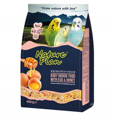 Nature Plan Yumurta ve Ballı Yavru Muhabbet Kuşu Yemi 400 Gr