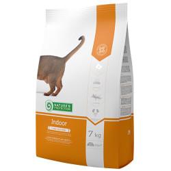 Natures Protection - Natures Protection Indoor Evde Yaşayan Kedi Kuru Maması 7 Kg+10 Adet Temizlik Mendili