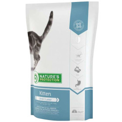 Natures Protection - Natures Protection Kitten Yavru Kedi Maması 400+400 Gr