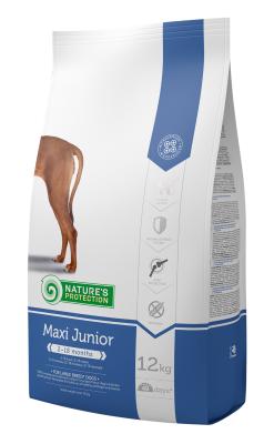 Natures Protection Maxi Junior Büyük Irk Yavru Köpek Maması 12 + 3 Kg (Toplam 15 Kg)
