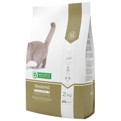 Natures Protection - Natures Protection Neutered Kısırlaştırılmış Kedi Maması 2 Kg+5 Adet Temizlik Mendili