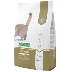 Natures Protection - Natures Protection Neutered Kısırlaştırılmış Kedi Maması 7 Kg+10 Adet Temizlik Mendili