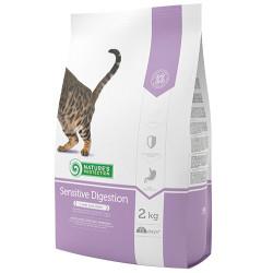 Natures Protection - Natures Protection Sensitive Digestion Hassas Sindirim Kedi Maması 2 Kg+5 Adet Temizlik Mendili
