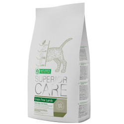 Natures Protection - Natures Protection Superior Care Grain Free Tahılsız Kuzulu Köpek Maması 10 Kg