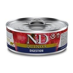 N&D (Naturel&Delicious) - ND 2130 Quinoa Digestion Hassas Sindirim için Kinoa, Kuzu ve Enginarlı Kedi Konservesi 80 Gr