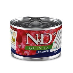 N&D (Naturel&Delicious) - ND 2369 Quinoa Mini Digestion Hassas Sindirim Kinoa, Kuzu, Enginarlı Köpek Konservesi 140 Gr