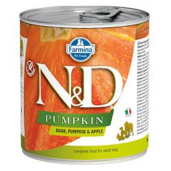 N&D (Naturel&Delicious) - ND 2543 Balkabaklı Yaban Domuzu ve Elma Köpek Konservesi 285 Gr