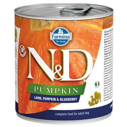 N&D (Naturel&Delicious) - ND 2581 Balkabaklı Kuzu Etli ve Yaban Mersini Köpek Konservesi 285 Gr