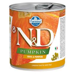 N&D (Naturel&Delicious) - ND 2598 Balkabaklı ve Bıldırcınlı Köpek Konservesi 285 Gr