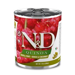N&D (Naturel&Delicious) - ND 2628 Quinoa Skin&Coat Deri Tüy Sağlığı Kinoa, Ördek, H. Cevizli Köpek Konservesi 285 Gr