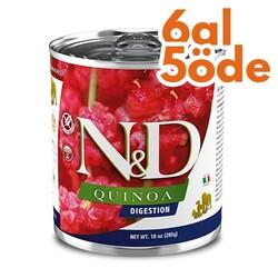 N&D (Naturel&Delicious) - ND 2666 Quinoa Weight Management Light Kinoa Kuzu Köpek Konservesi 285 Gr - 6 Al 5 Öde