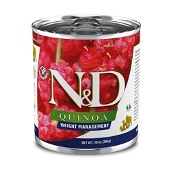 N&D (Naturel&Delicious) - ND 2666 Quinoa Weight Management Light Kinoa Kuzu Köpek Konservesi 285 Gr