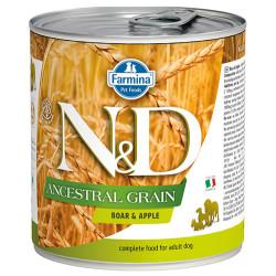 N&D (Naturel&Delicious) - ND 2673 Düşük Tahıl Yaban Domuzu ve Elmalı Köpek Konservesi 285 Gr