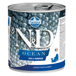 N&D (Naturel&Delicious) - ND 2949 Puppy Ocean Morina Balıklı ve Balkabaklı Yavru Köpek Konservesi 285 Gr
