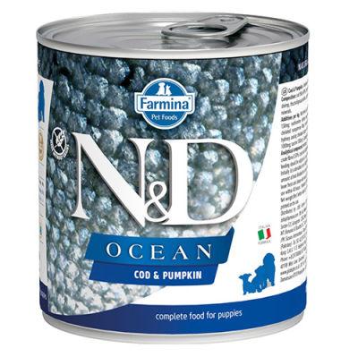 ND 2949 Puppy Ocean Morina Balıklı ve Balkabaklı Yavru Köpek Konservesi 285 Gr