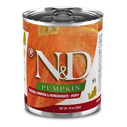 N&D (Naturel&Delicious) - ND 5704 Puppy Balkabak, Tavuk, Nar Yavru Köpek Konservesi 285 Gr