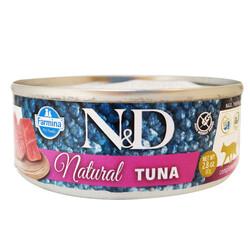 N&D (Naturel&Delicious) - ND 6275 Natural Ton Balığı Kedi Konservesi 80 Gr