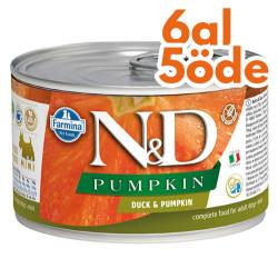 N&D (Naturel&Delicious) - ND Balkabaklı ve Ördek Etli Köpek Konservesi 285 Gr - 6 Al 5 Öde