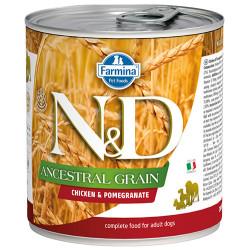 N&D (Naturel&Delicious) - ND Düşük Tahıl Tavuk Etli ve Narlı Köpek Konservesi 285 Gr
