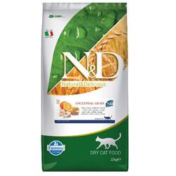 N&D (Naturel&Delicious) - ND Düşük Tahıllı Balık Portakal Kedi Maması 10 Kg + 10 Adet Temizlik Mendili