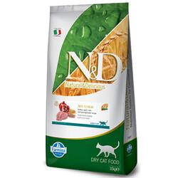 N&D (Naturel&Delicious) - ND Düşük Tahıllı Hindi ve Narlı Kısırlaştırılmış Kedi Maması 10 Kg+10 Adet Temizlik Mendili