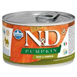 N&D (Naturel&Delicious) - N&D Mini Balkabaklı ve Ördek Etli Köpek Konservesi 140 Gr - 6 Al 5 Öde